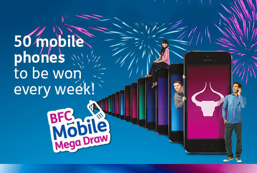 BFC launches its Mobile Mega Draw Campaign